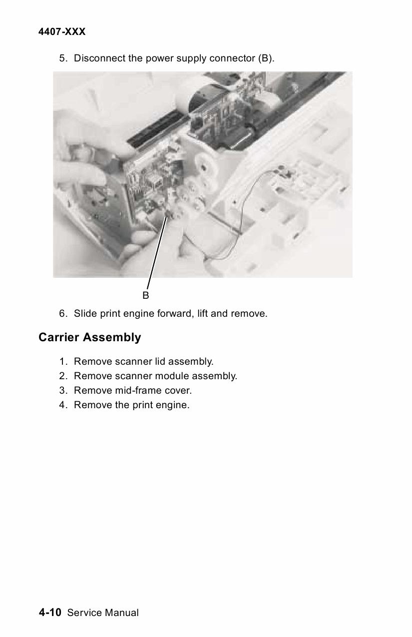 lexmark cx510de service manual pdf
